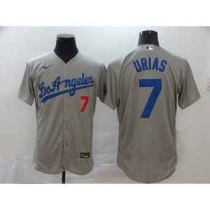 LA Dodgers Julio Urias Gray Jersey